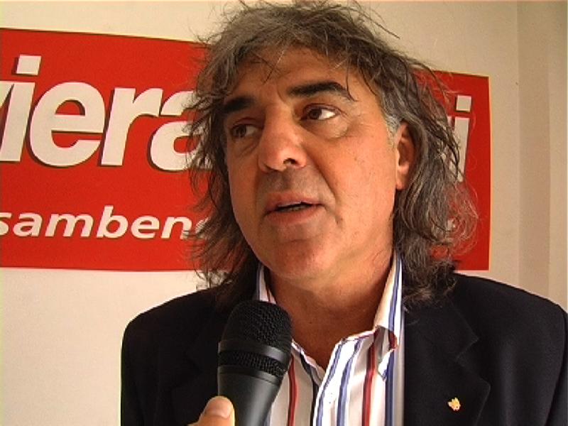 Giovanni Cimini negli studi di Rivieraoggi.it