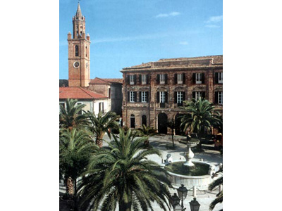 Piazza Piè di Corte a Corropoli