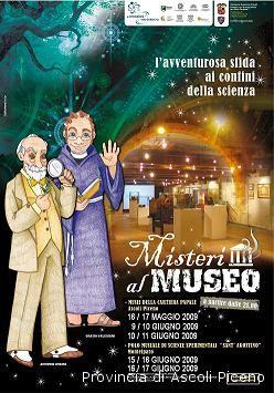 La locandina di Misteri al Museo
