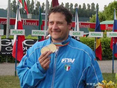Massimo Fabbrizi (la foto si riferisce al mondiale di Monaco del 2009)