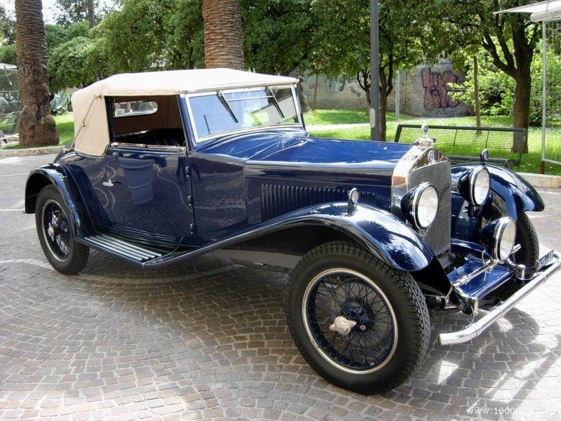 L'Alfa Romeo 6C 1750 Sport Gran Turismo del 1929 con la quale Luigi e Amato Olivieri parteciperanno alla Mille Miglia