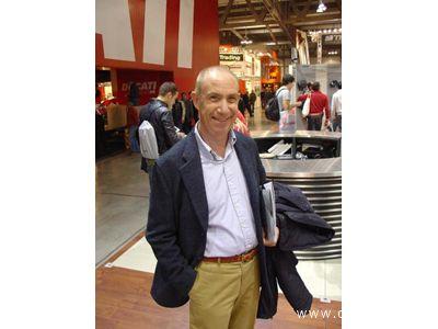 Il conduttore Davide Mengacci