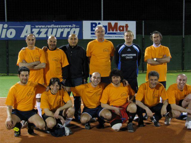 La squadra Dipendenti Municipio di Grottammare