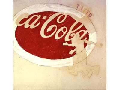 Coca Cola di Mario Schifano