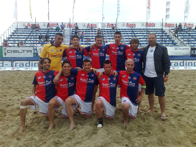 La Samb Beach Soccer scesa in campo per la storica vittoria contro Venezia