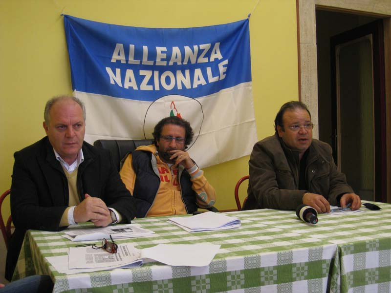 Luigino Fedeli, Toni Lattanzi e Gianfranco De Luca