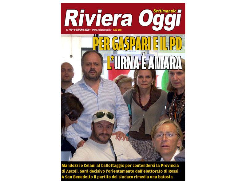 L'emblematica copertina di Riviera Oggi numero 779, con uno scatto di Massimo Falcioni che vale più di mille parole