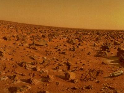 La superficie di Marte