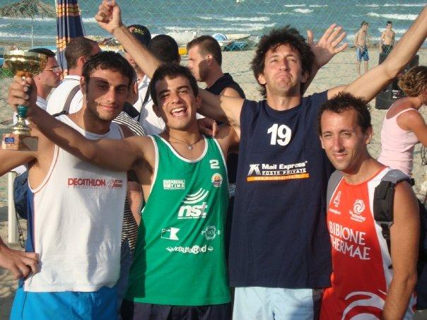 Da sinistra: Gianluca Petrangeli, Piercarlo Lanciotti, Francesco Quercia e Marco Scartozzi