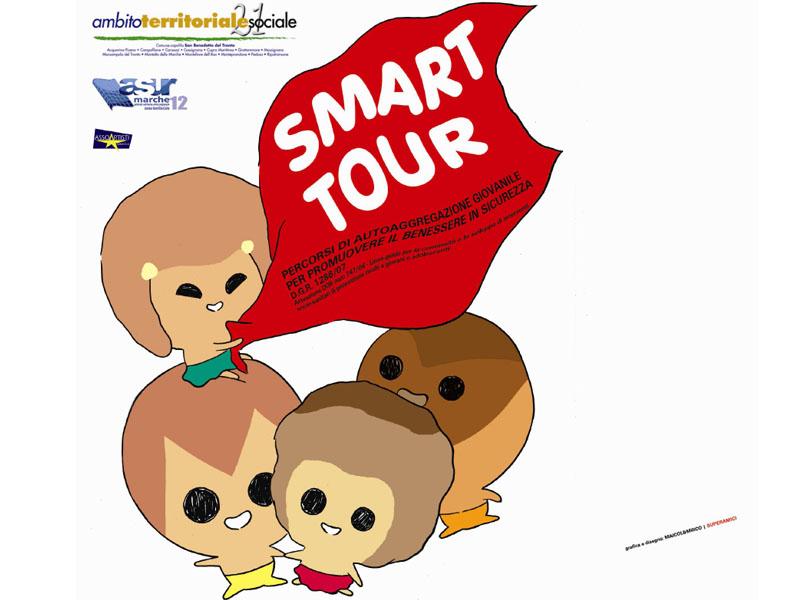 Smart Tour. Percorsi di autoaggregazione giovanile per promuovere il benessere in sicurezza