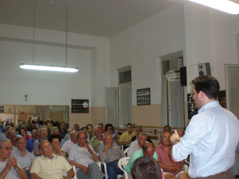 Stefano Stracci incontra i cittadini al