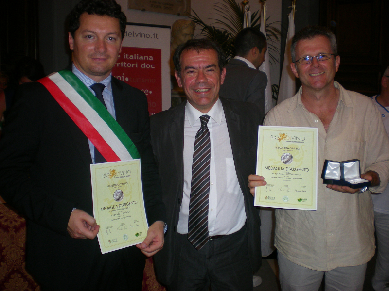 Roberto De Angelis, Paolo Beretta e Marcello Mazzù a BioDiVino 2009