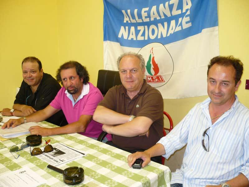 Giacinto De Luca, Toni Lattanzi, Luigino Fedeli e Giorgio Morganti