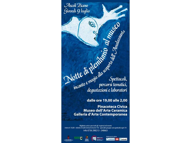 Manifesto dell'evento