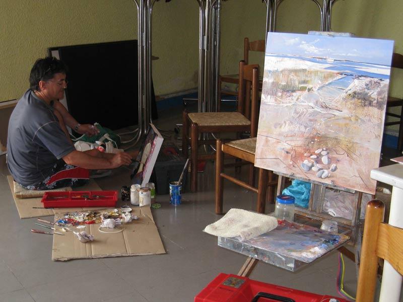 Artisti a Colonnella per il concorso