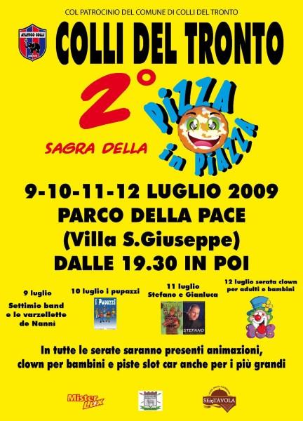 Colli del Tronto Sagra Pizza in Piazza 2009