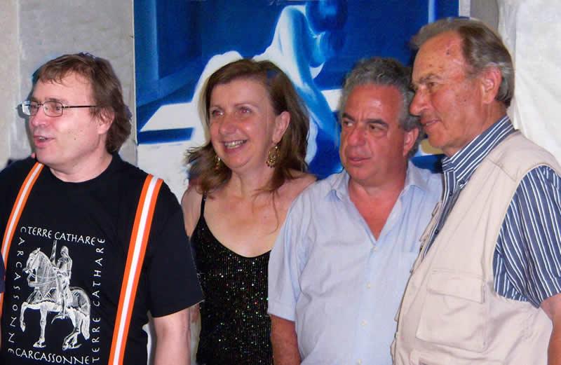 Danilo Tomassetti, Annunzia Fumagalli, Vince Tempera, Nazzareno Tomassetti