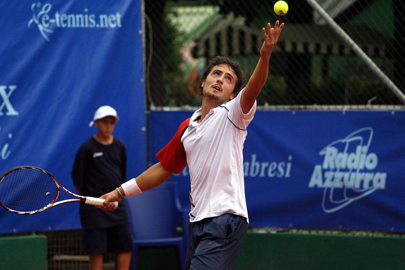 Il tennista sambenedettese Daniele Giorgini