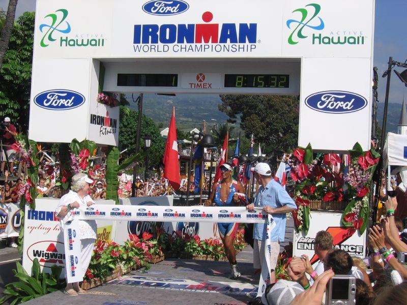 Un'immagine dell'Ironman delle Hawaii