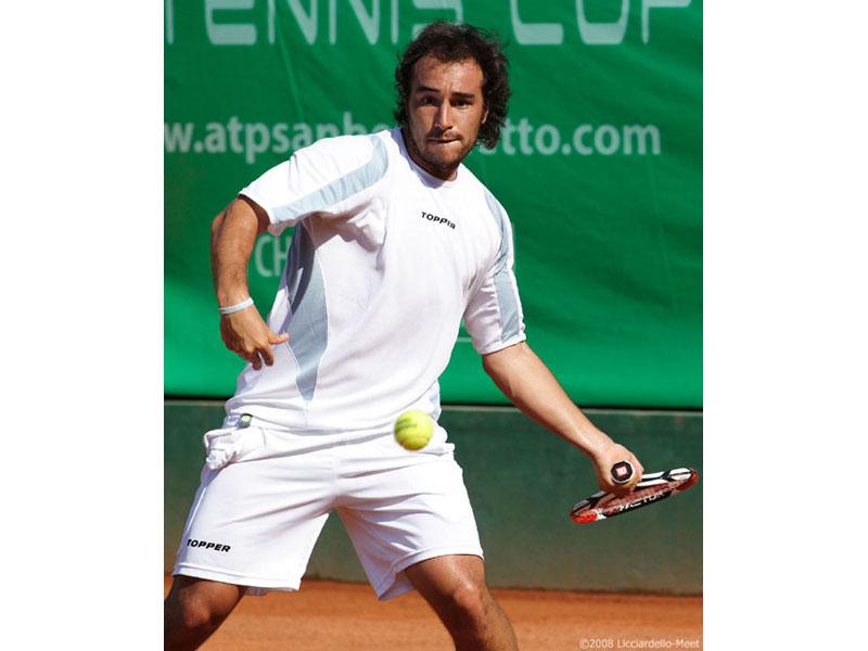 Diego Junqueira: amara per lui la Carisap Tennis Cup del 2009, edizione nella quale è stato eliminato agli ottavi di finale