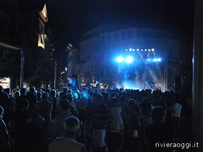 Mare Aperto, un concerto a piazza Matteotti