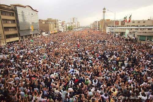 La protesta in Iran contro il regime