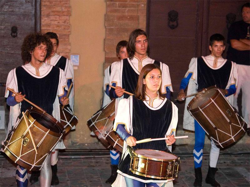 I suonatori di tamburi