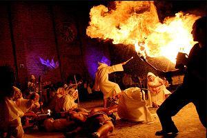 Un momento di spettacolo al Festival dei Templaria