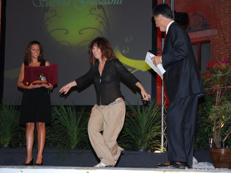 Sabina Guzzanti, Arancia d'oro per la venticinquesima edizione