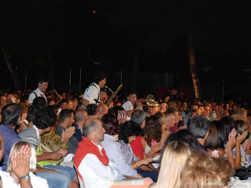 La Mabo' band fra il pubblico
