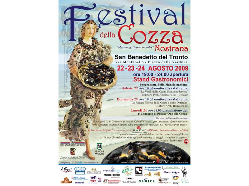 A San Benedetto c'è il Festival della Cozza Nostrana