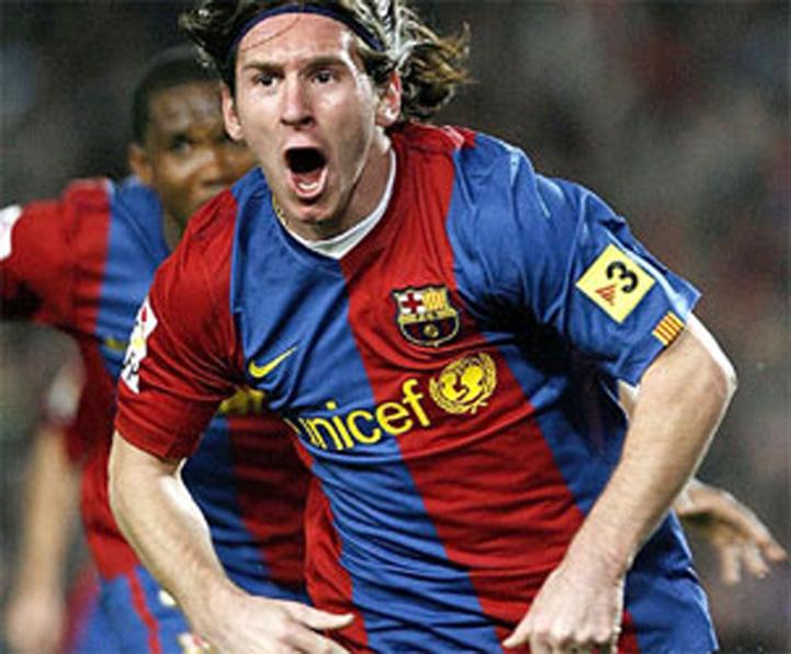Lionel Messi premiato come miglior calciatore