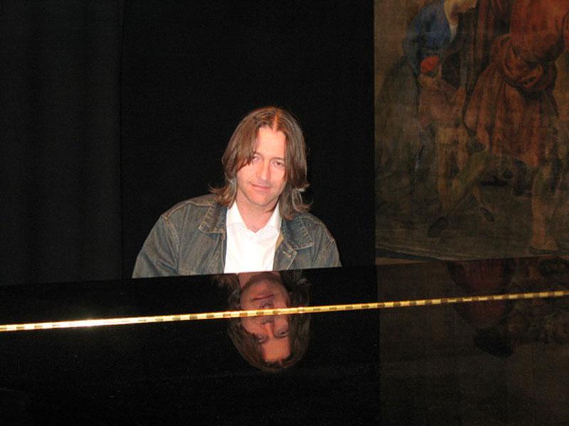 Il musicista Patrizio Paci
