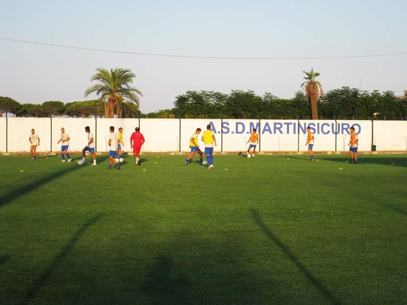 Gli allenamenti del Martinsicuro