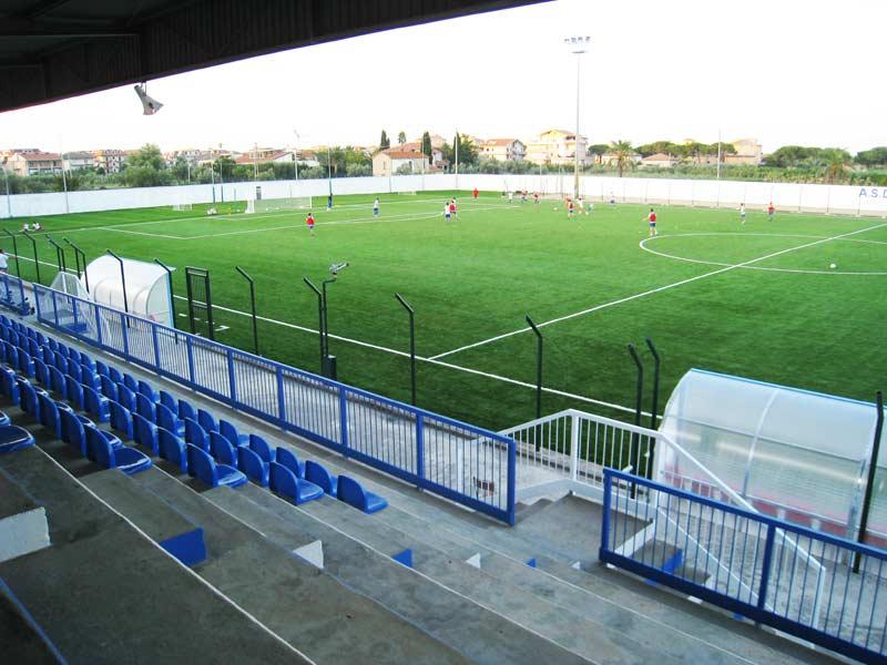 Il nuovo campo sportivo di Martinsicuro