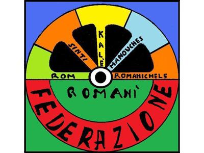 Il logo della Federazione Romanì