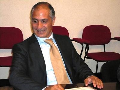 l'assessore provinciale Filippo Olivieri