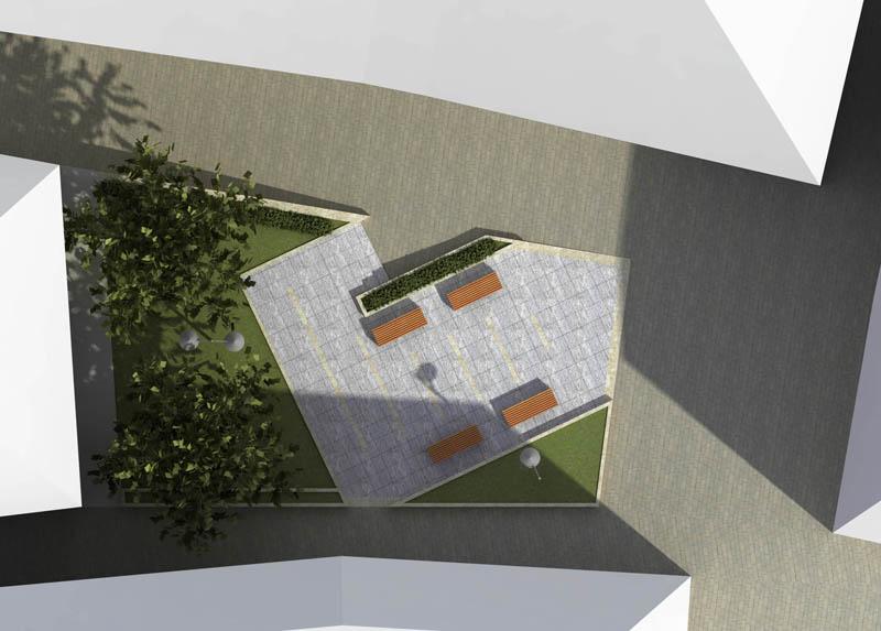 Un rendering del progetto di centro commerciale naturale