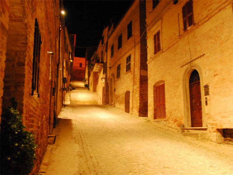 Notte di San Lorenzo suggestiva a Ripatransone