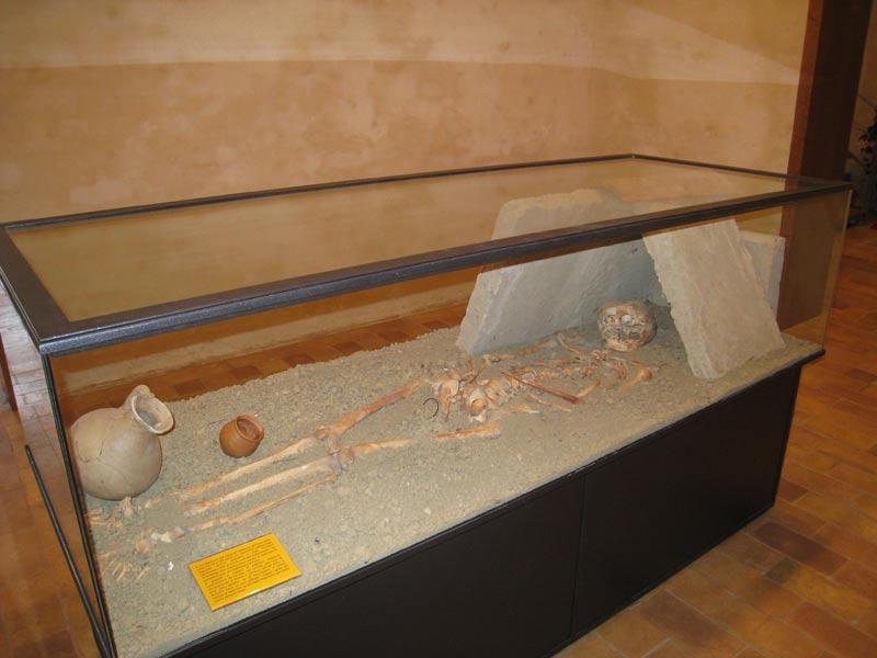 Sepoltura risalente al VI-VII sec D.C