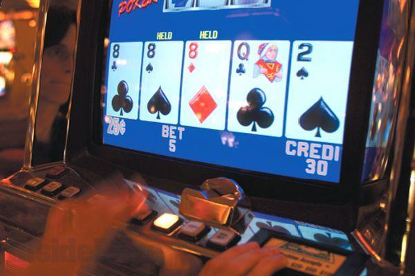 Un video poker