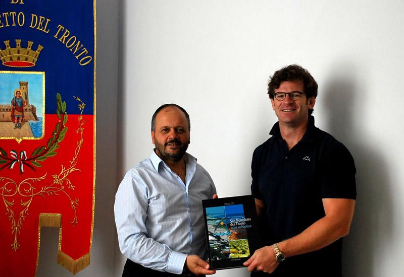 Carlo Checchinato, team Manager della Nazionale Italiana di rugby, a San Benedetto