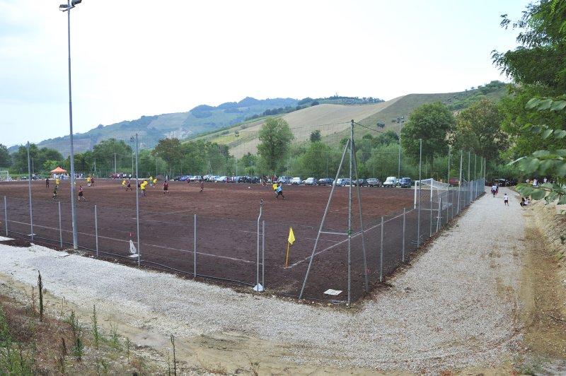 Il nuovo campo sportivo