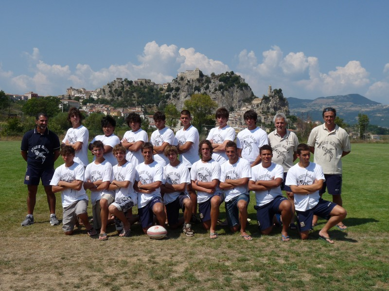 La Rugby Samb under 18 in ritiro