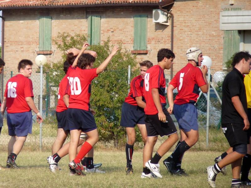 La gioia della Rugby Samb
