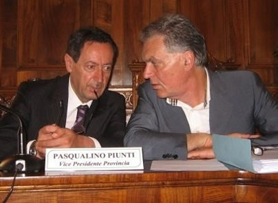 Pasqualino Piunti e Piero Celani