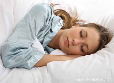Dormire è essenziale per un recupero fisico e mentale.