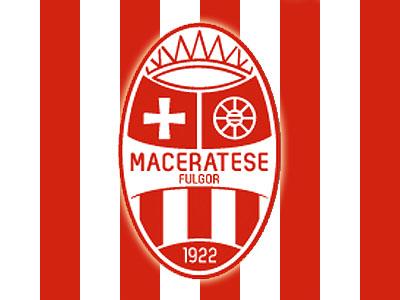 Lo stemma della Fulgor Maceratese