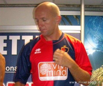 Ottavio Palladini con la maglia della Samb 2009-2010