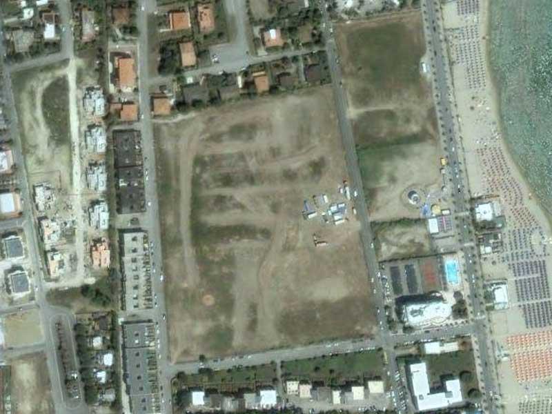 L'area compresa tra Via Turati e via Berlinguer nei pressi della quale è stato ucciso Antonio De Meo